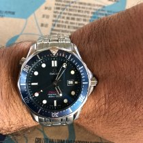 Omega 2541.80 Steel 1999 Seamaster 41mm pre-owned