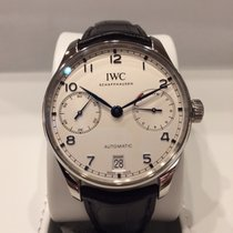 IWC Steel Automatic 42mm new Portuguese Automatic