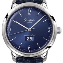 Glashütte Original Sixties Panorama Date Steel 42mm Blue United States of America, New York, Airmont