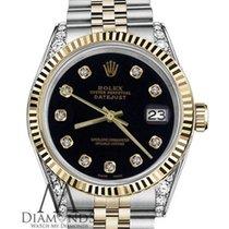 Rolex Lady-Datejust Acero y oro 26mm Negro