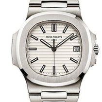 Patek Philippe Nautilus  5711/1A-011 White Dial Men's Watch