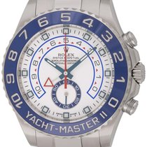 Rolex : Yacht-Master II :  116680 :  Stainless Steel : white dial