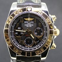 Breitling Chronomat 41MM Black Dial  Gold/Steel Full Set 2012