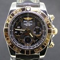 Μπρέιτλιγνκ  (Breitling) Chronomat 41MM Black Dial  Gold/Steel...