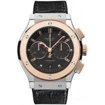 Hublot Classic Fusion Chronograph nowość 2018 Automatyczny Chronograf Zegarek z oryginalnym pudełkiem i oryginalnymi dokumentami 521.NO.1181.LR