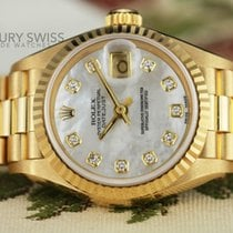 Rolex Lady-Datejust Diamond Dial Fluted Bezel 26mm w/ Box &...