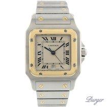 Cartier Santos Galbee GM Gold/Steel