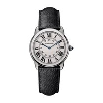 Cartier Ronde Croisière de Cartier Steel 29mm Silver Roman numerals United States of America, New York, New York