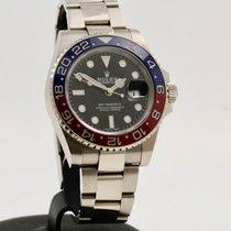 Rolex Witgoud Automatisch Zwart Geen cijfers 40mm tweedehands GMT-Master II
