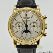 Patek Philippe Perpetual Calendar Chronograph Yellow gold 36mm No numerals United States of America, Texas, Houston