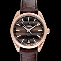 Omega Seamaster Aqua Terra Rose gold 41mm Brown United States of America, California, San Mateo