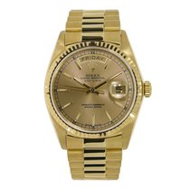 Rolex Day-Date 36 Yellow gold 36mm Gold No numerals United States of America, New York, New York