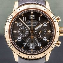 Breguet Type XX - XXI - XXII Rose gold 43mm Brown Arabic numerals