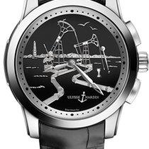 Ulysse Nardin Hourstriker Platinum 43mm Black