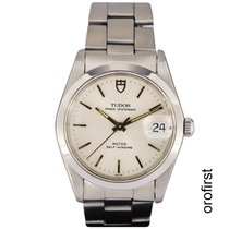 Tudor Prince Oysterdate Steel 34mm White No numerals