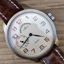 Zeno-Watch Basel Acier 47mmmm Remontage manuel 8558 occasion