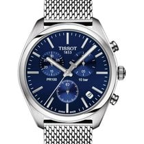 Tissot PR 100 Steel 41mm Blue United States of America, Massachusetts, Florence