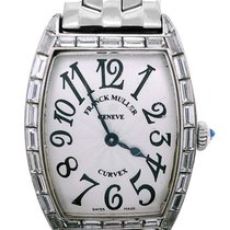 Franck Muller Cintrée Curvex White gold 24mm Silver United States of America, New York, NY