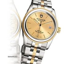 Tudor Glamour Date Gold/Steel 26mm Gold No numerals