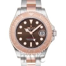 Rolex Yacht-Master Chocolate Steel/18k Rose Gold 37mm - 268621