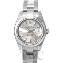 Rolex Lady Datejust Silver Dial Oyster Bracelet - 179160