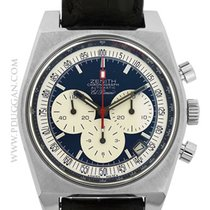 Zenith El Primero New Vintage 1969 Steel 40mm Black United States of America, Massachusetts, Boston