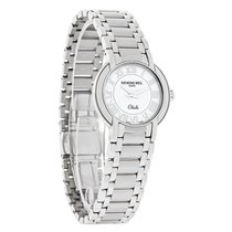Raymond Weil Othello Ladies White Dial SS Swiss Watch 2321-ST-...
