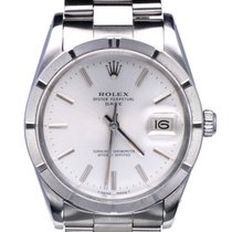 Rolex Oyster Date Steel Silver Dial 34 mm (1984)