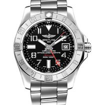 Breitling a3239011/bc34 Avenger II GMT Automatic in Steel - On...
