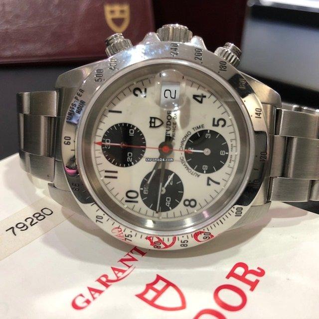 new styles 9ab33 ddbe3 Tudor Prince Date Chronograph 79280 H Serial Full Set