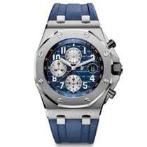 Audemars Piguet Royal Oak Offshore Chronograph Steel Navy Blue...
