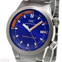 IWC Cousteau Divers Aquatimer Automatic Ref-354806 Stainless...