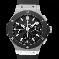 Hublot Big Bang Steel Ceramic Black Steel/Rubber 44mm -...