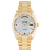 Rolex Day-Date 36 Yellow gold 36mm Mother of pearl United States of America, Texas, Dallas