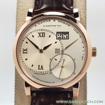 A. Lange & Söhne Red gold 42mm Manual winding Grand Lange 1 pre-owned