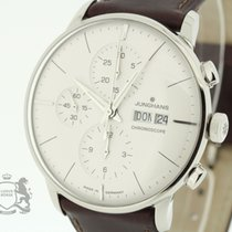 Junghans Meister Chronoscope 027-4120 Box & Papers 2015