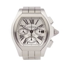 Cartier Chronograph 44mm Automatic 2016 pre-owned Roadster Silver