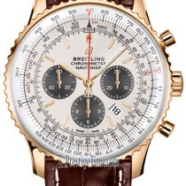Breitling Rose gold Automatic Silver 46mm new Navitimer 01 (46 MM)
