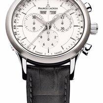 Maurice Lacroix Chronograaf 40mm Quartz Les Classiques Chronographe Grijs