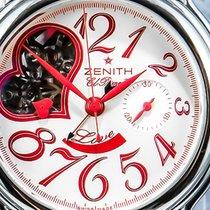 Zenith El Primero Chronomaster Lady gebraucht 37.5mm Stahl