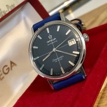 Omega Seamaster De Ville Blue crosshair Don Draper mens watch