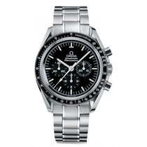 Omega Speedmaster Professional Moonwatch Steel 42mm Black No numerals United States of America, Iowa, Des Moines