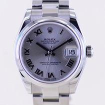Rolex Lady-Datejust Stahl 31mm Silber Keine Ziffern Deutschland, Langenfeld