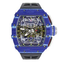 Richard Mille RM 011 RM 11-03 New Carbon 44.5mm Automatic