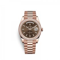 Rolex Day-Date 40 228345RBR0005 Neuve Or rose 40mm Remontage automatique