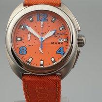 Locman Titanium Quartz Orange 40mm new