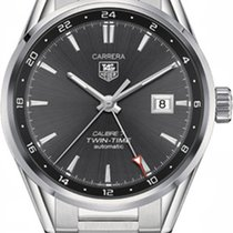 TAG Heuer Carrera Calibre 7 WAR2012.BA0723 New Steel 41mm Automatic