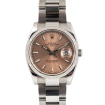 Rolex 115210 Steel 2009 Oyster Perpetual Date 34mm pre-owned