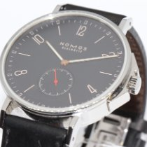 NOMOS Ahoi Atlantik Steel 40mm Black Arabic numerals