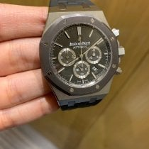 Audemars Piguet Royal Oak Chronograph Steel 41mm Grey No numerals UAE, 213858